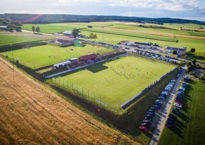 Luftbild-Spielfelder