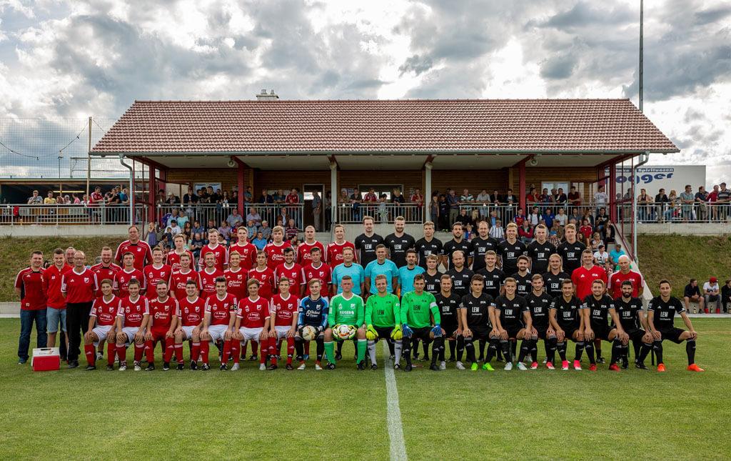 Mannschaftsfoto VG Auswahl - FC Memmingen