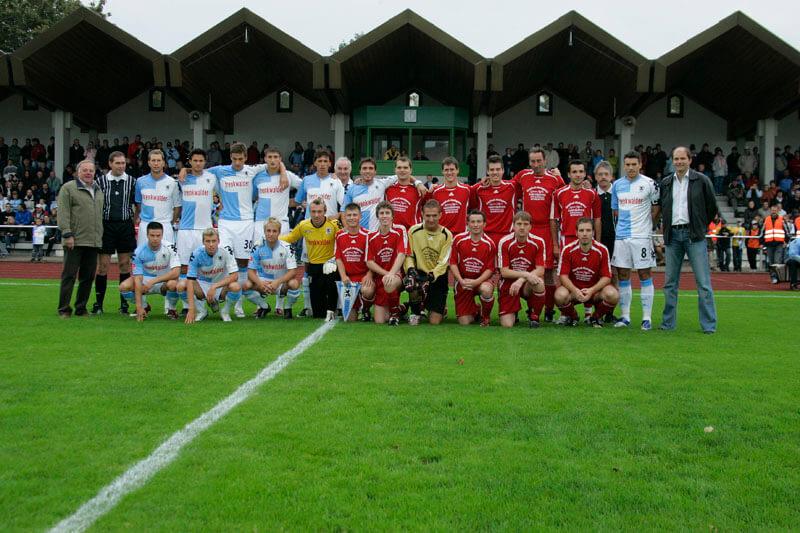 Mannschaftsfoto SV Breitenbrunn - TSV 1860 München